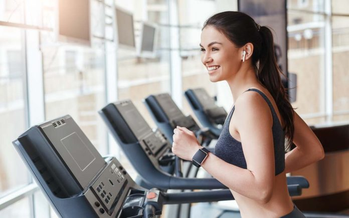Gå ned i vekt med tredemølle