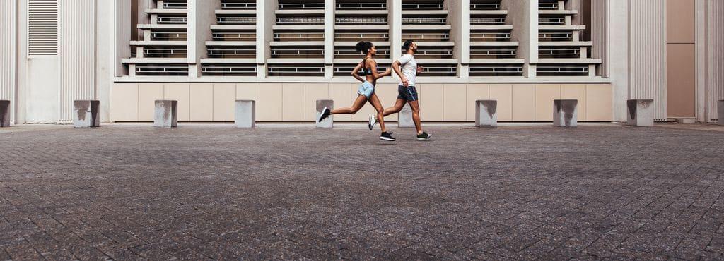 hva trener man når man jogger