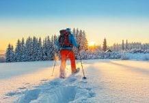 Gå tur om vinteren