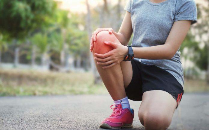 Smerter i kneet etter løping