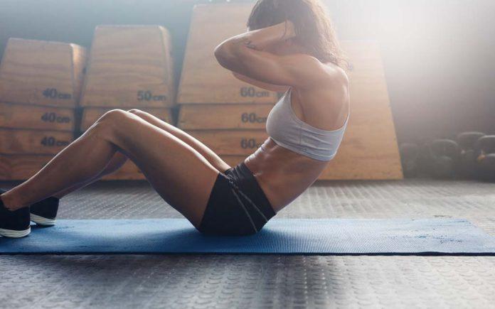 Hvilke muskler trenes ved sit-ups