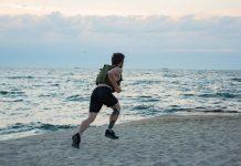 Løpe med vektvest