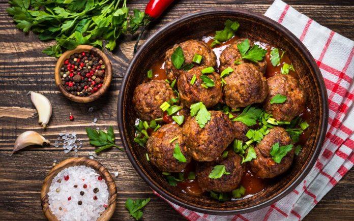 Lavkarbo middag med kjøttdeig