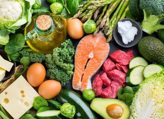 Mat med mye fett og lite karbohydrater