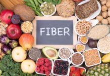 Mat med mye fiber