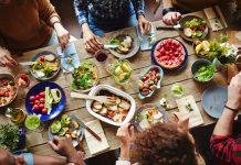 Sunne middager for å gå ned i vekt