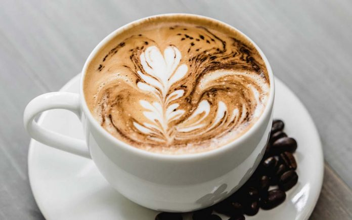kaffe forbrenning