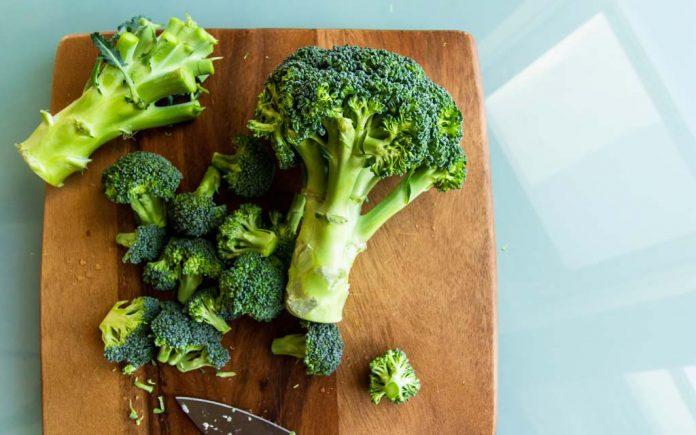 Grønnsaker med mye fiber