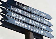 Hvor mange kilometer er det i en mil
