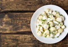 Hvor mye potetsalat pr person
