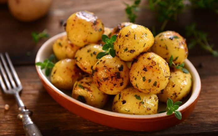 Hva inneholder poteter