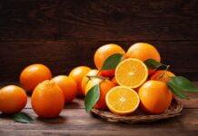 Hvor mye veier en appelsin