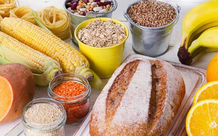 Mat med mye karbohydrater