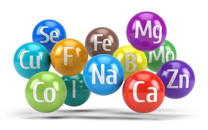 Mineraler i mat