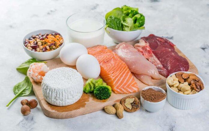 Mat med proteiner