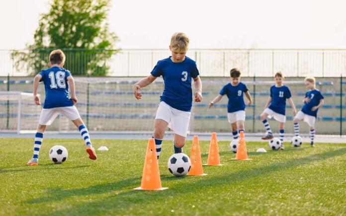 Fotballøvelser barn