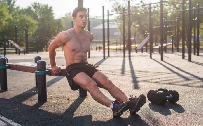 Triceps øvelser uten utstyr