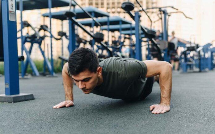 Hvor mange push-ups bør man klare