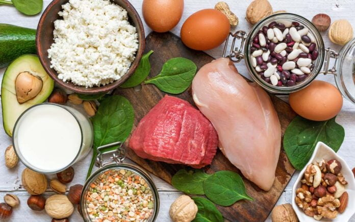 Proteinrik mat etter trening