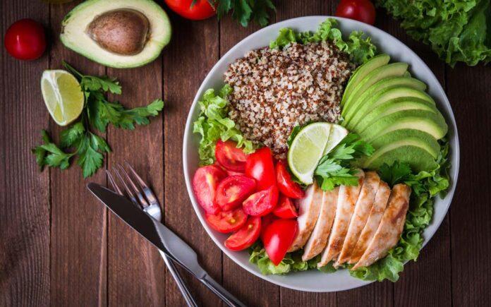 Sunn mat etter trening