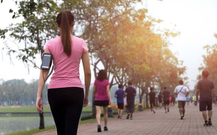 Gå som trening