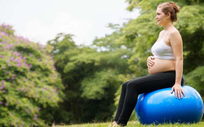 Situps gravid