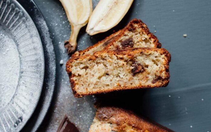 Vegansk bananbrød