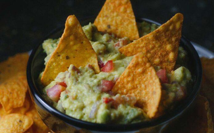 Vegetar nachos